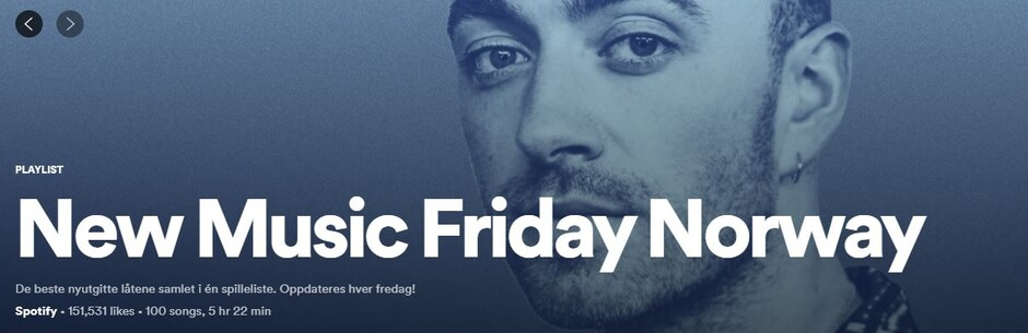UiA students and alumni feature on four new songs on this week's New Music Friday on Spotify.
